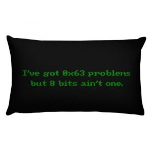 Problems – Throw Pillow