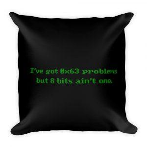 Problems – Throw Pillow