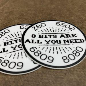 8 Bits Sticker