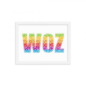 WOZ – Framed Poster